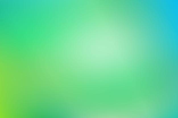 Background gradient in green tones