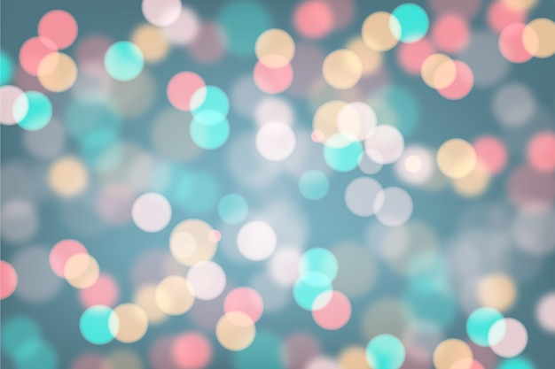 Background gradient with bokeh effect