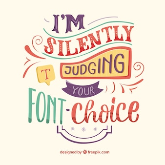 Background of graphic design quote with inspirational message