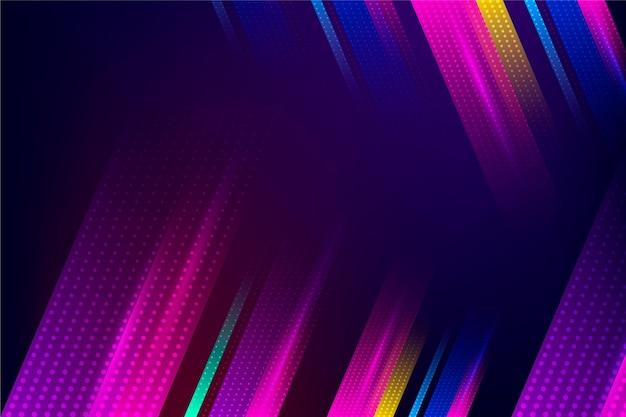 Background halftone style