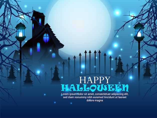 Background for halloween design