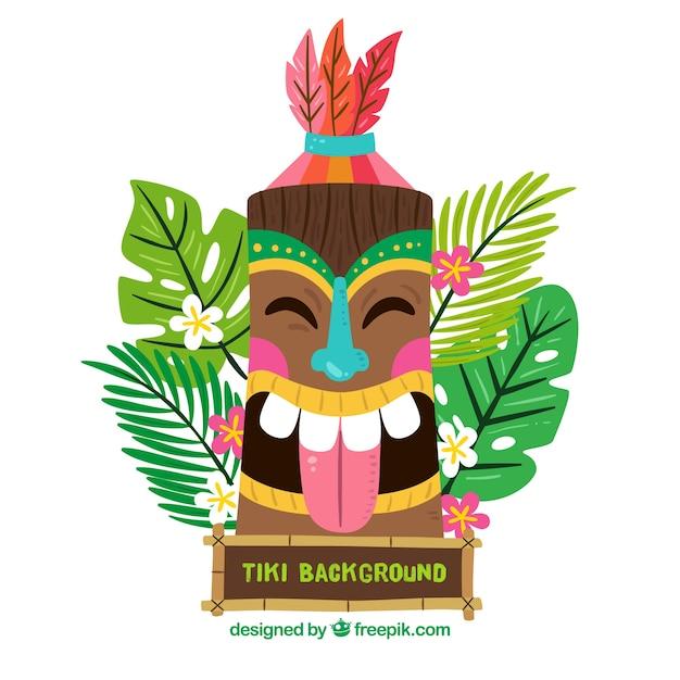 photograph regarding Tiki Mask Printable named Tiki Vectors, Illustrations or photos and PSD documents No cost Obtain