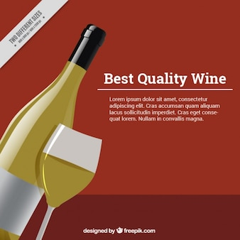 Background of high-quality wine