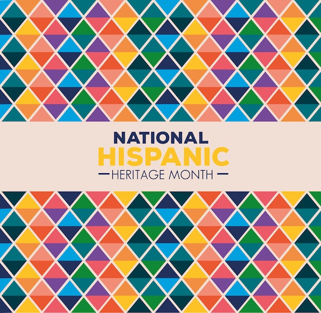 Background, hispanic and latino americans culture, national hispanic heritage month in september and october