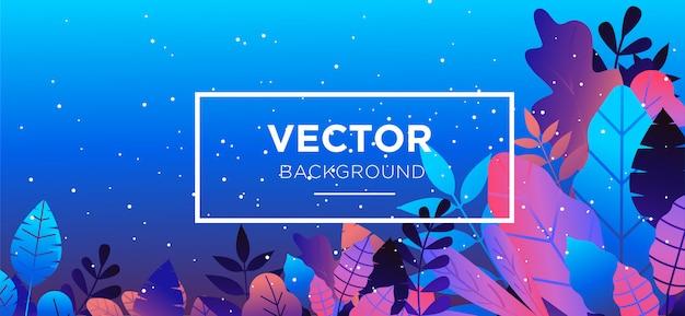 Background illustration flat style