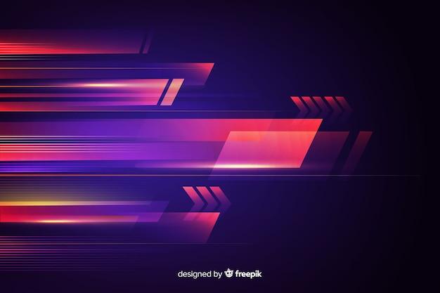 Фоновое движение света абстрактный
