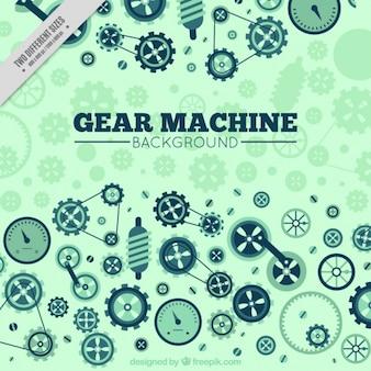 Background of machine gear
