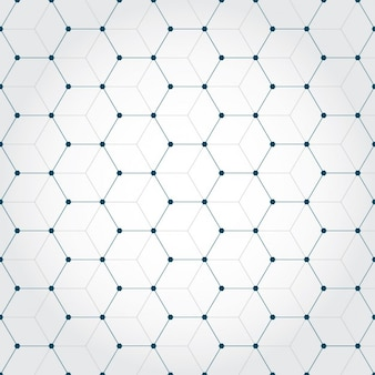 Background made of octagons