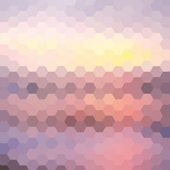 Фон из шестиугольников