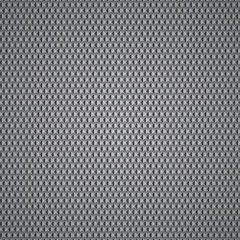 小さな灰色のピラミッドで作られた背景