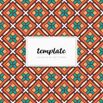 Background mandala seamless pattern