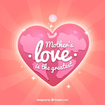 Background mother's love is the greatest