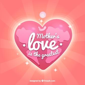 어머니의 사랑이 가장 큰 배경