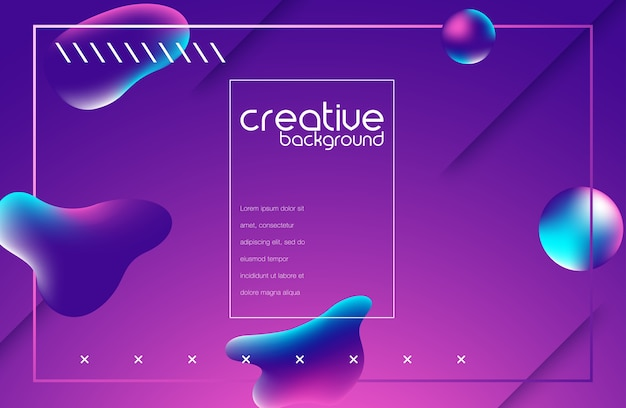 Background multicolored abstract
