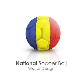 Background nation team flag abroad
