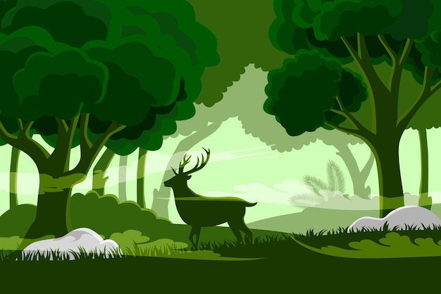 Background nature design