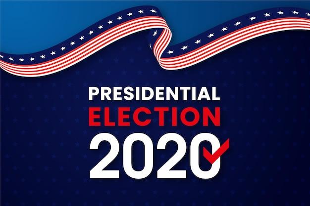 2020年の米国大統領選挙の背景