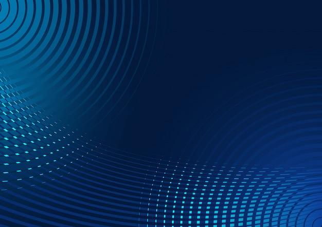 파란 광선 원의 배경
