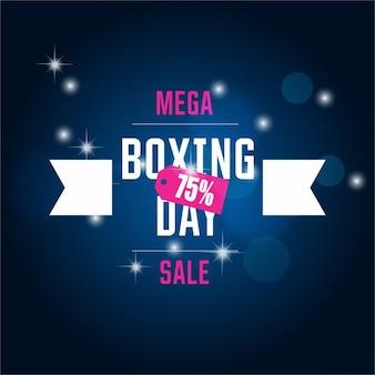 ボクシングの日の提供の背景