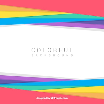 Background of colorful abstract shapes