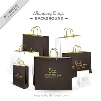 Background of eco bags
