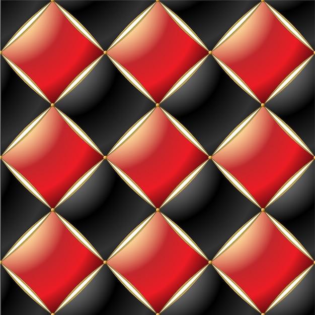エレガントなキルティングパターンの背景