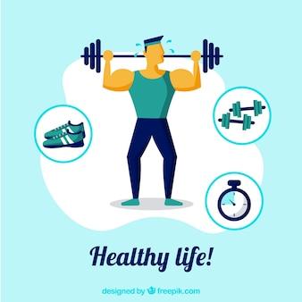 Предыстория подготовки людей к здоровому образу жизни