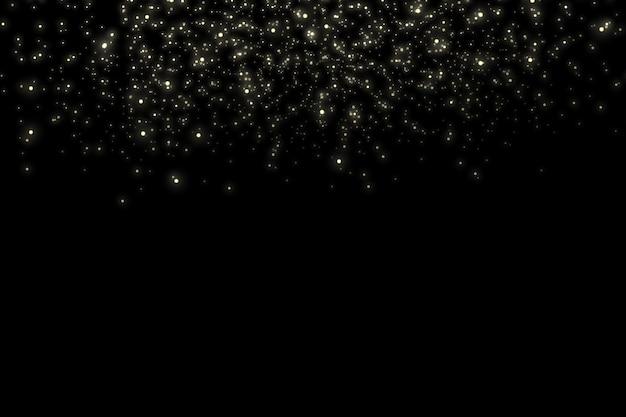 Фон сверкающих частиц