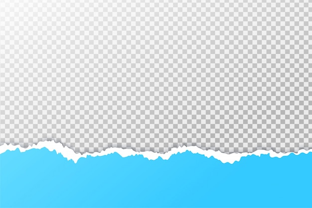 The background of the paper  is torn until you see the edges.