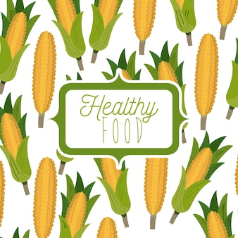 Background pattern of corn