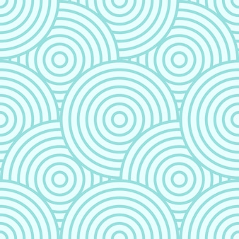Background pattern seamless circle abstract green pastel colors.