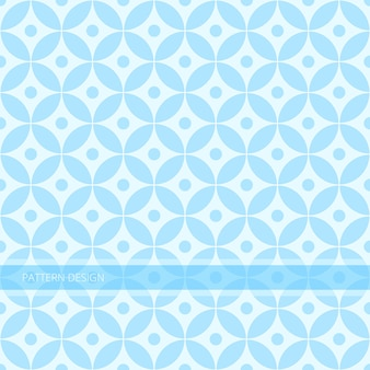 Background pattern seamless modern abstract sweet blue circle vector design