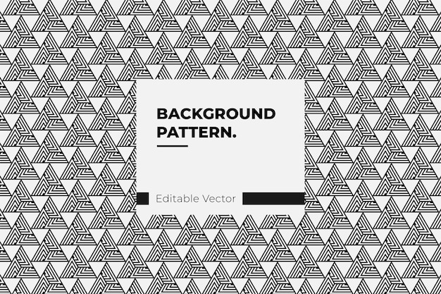 Background pattern triangle line monochrome.