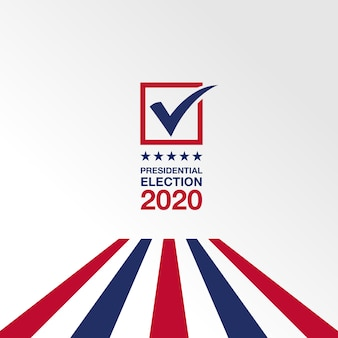 Background presidential election 2020