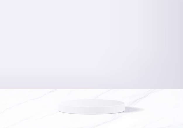 Background products display podium scene with geometric platform. background   rendering with podium. stand to show cosmetic products. stage showcase on pedestal display white studio