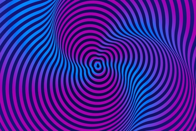 Background psychedelic optical illusion design
