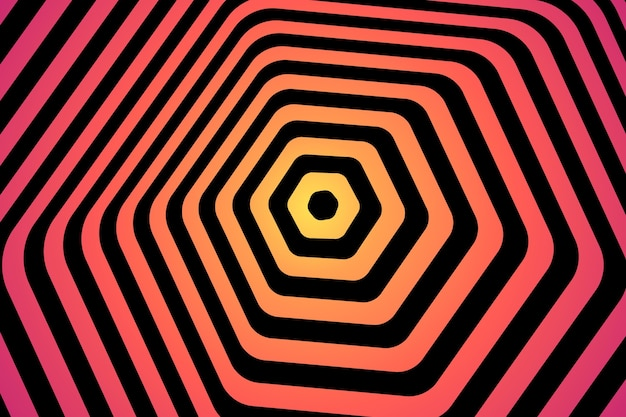 Background psychedelic optical illusion style