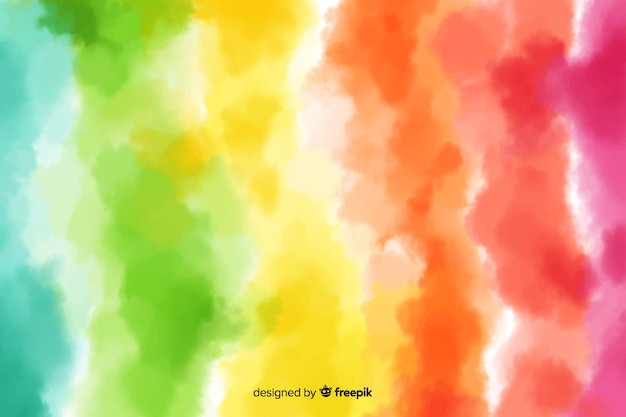 Background rainbow in tie-dye style