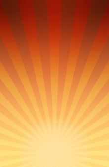 Background of retro comic book style striped explosion or rays of sunburst with light and dark gradient