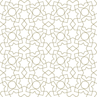 Background seamless pattern based on traditional islamic art.