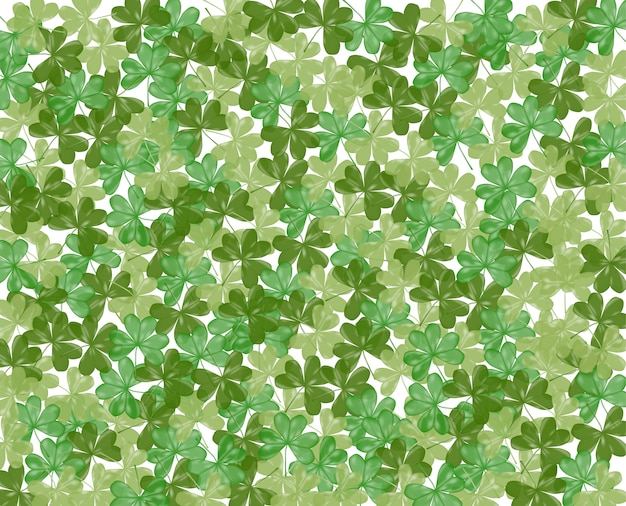 Background of shamrock for st. patrick day