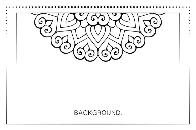 バナーや名刺の背景のシンプルなテンプレート