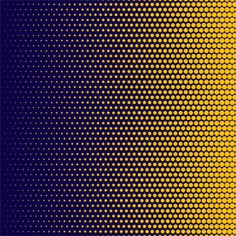 Background of spots halftone