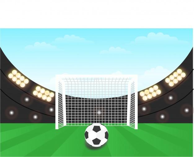 Background stadium football daytime