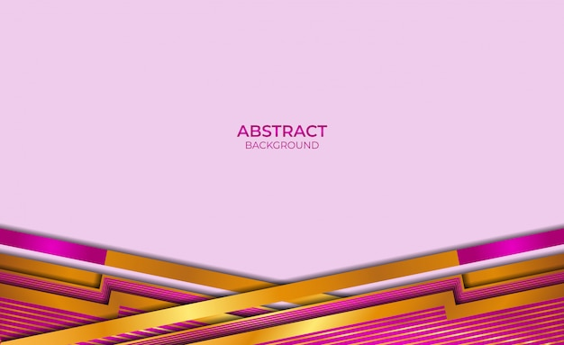 Background style gold and purple abstract