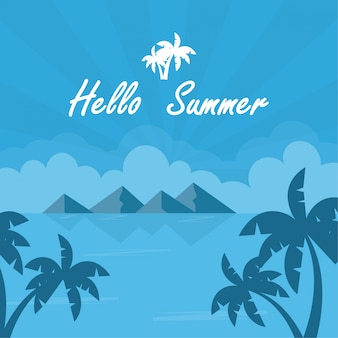 Background summer