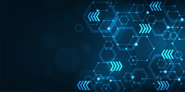 Фоновая технология в концепции сети передачи данных.
