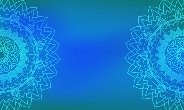 マンダラデザインの背景テンプレート