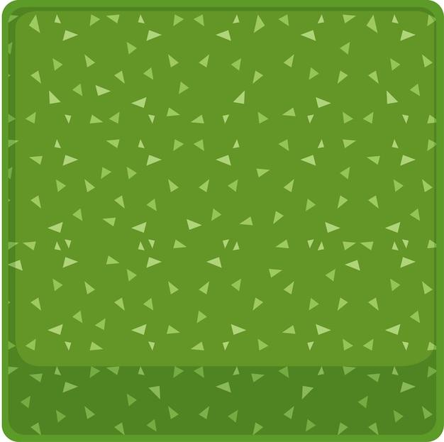 Modello di sfondo con triangoli in verde