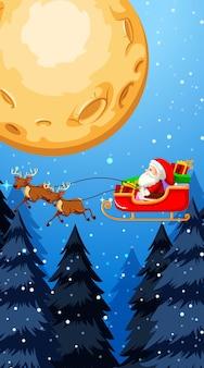 Modelli di sfondo con tema natalizio